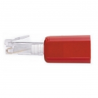 Untangler red - clear plug
