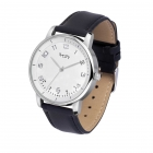 WatchTracker - leather - black