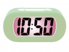 Alarm clock Gummy grayed jade