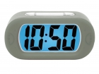 Alarm clock Gummy antracite grey