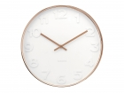 Wall clock Mr. White numbers, copper case