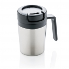 Coffee to go beker, zilver