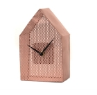 Wall clock Mesh House metal copper