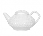 Tea pot Magical Mystery clay white