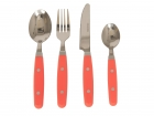 Cutlery set Colour Blocking neon orange