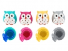 Lip gloss Owl assorted