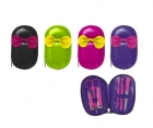 Manicure set Neon oval shape assorted