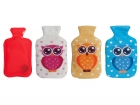 Hand warmer Owl fleece assorted