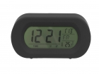 Alarm clock Record Your Voice black rubber finish