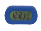Alarm clock Record Your Voice blue rubber finish