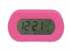 Alarm clock Record Your Voice pink rubber finish