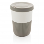 PLA cup coffee to go 380ml, grijs