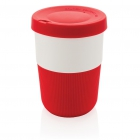 PLA cup coffee to go 380ml, rood