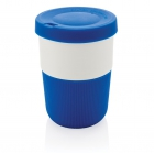 PLA cup coffee to go 380ml, blauw