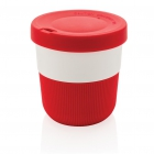 PLA cup coffee to go 280ml, rood