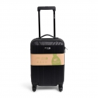 "Cabin Size ""Simply Green"" Trolley RPET Black"