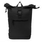 Norländer Dull PU Roll Backpack Black