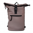 Norländer Dull PU Roll Backpack Taupe