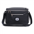 DUNGA 600D Reversed Bicycle Cooler Bag LED