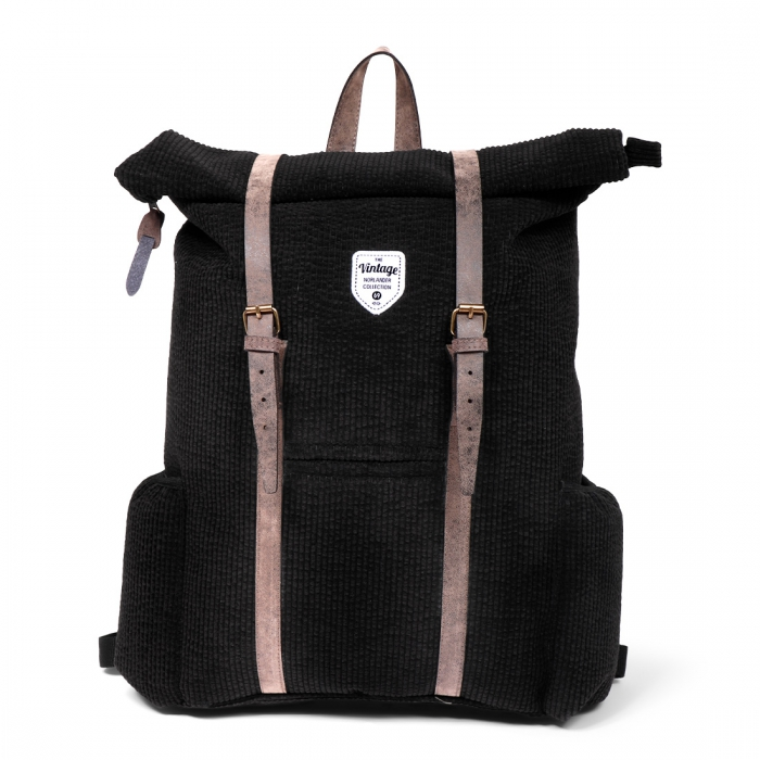 Vintage Ribble Backpack Black - 1