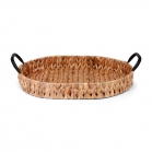 SENZA Oval Hyacinth Tray with handles Small