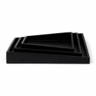 SENZA Asymmetric Trays /3 black