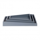 SENZA Asymmetric Trays /3 grey