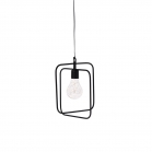 SENZA LED Hanging lamp with timer rectangle