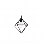 SENZA LED Hanging lamp with timer diamond
