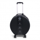 Round Shaped Trolley Black