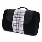 SENZA Picknick Blanket Black