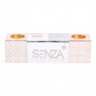 SENZA Vibes Block Candle Holder