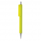 X8 smooth touch pen, limegroen
