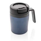 Coffee to go beker, blauw