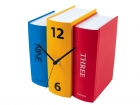 Table clock Book colour paper 20x15x20cm