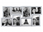 Photo frame Layered Collection wood silver
