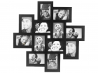 Photo frame Cluster MDF large black