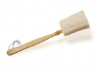 MARILENE wooden bathbrush with loofah
