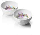 Raw Diamonds By Us, Breakfast Bowl set Wit