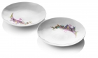 Raw Diamonds By Us, Side plate set Wit
