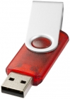Rotate-translucent USB 4GB