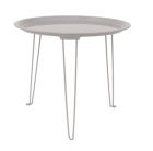 Side table Tray iron mouse grey