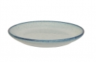 Breakfast plate Craft terracotta light blue