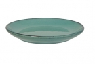 Breakfast plate Craft terracotta green
