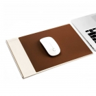 Aluminium with PU Leather Mouse